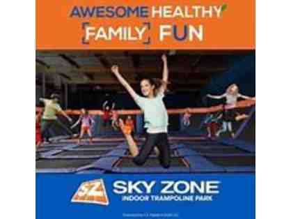Sky Zone - 60 minutes free jump time for 4!