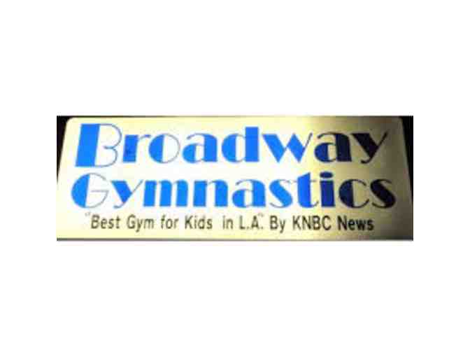 Broadway Gymnastic School - 4 Consecutive Classes Certificate