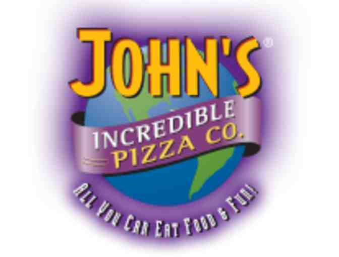 John's Incredible Pizza Co - All You Can Eat Buffet and Beverages for Two