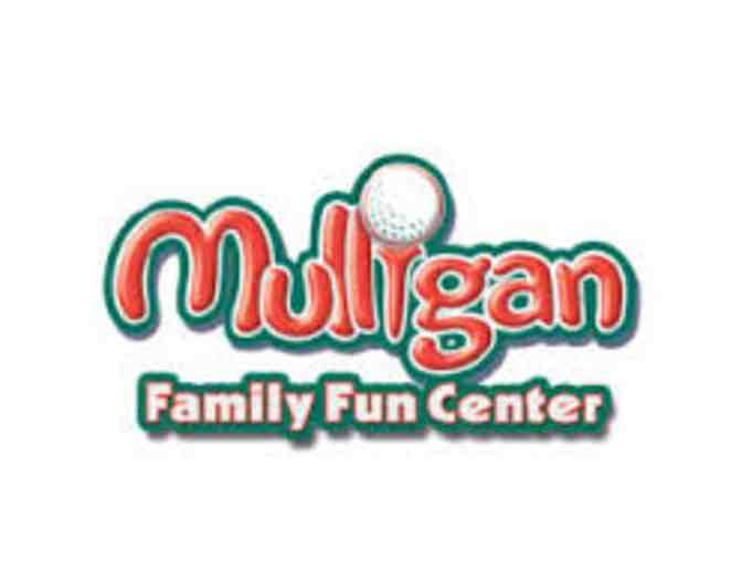 Mulligan Family Fun Center - 6 One Attraction Tickets & 6 Rounds of Mini Golf