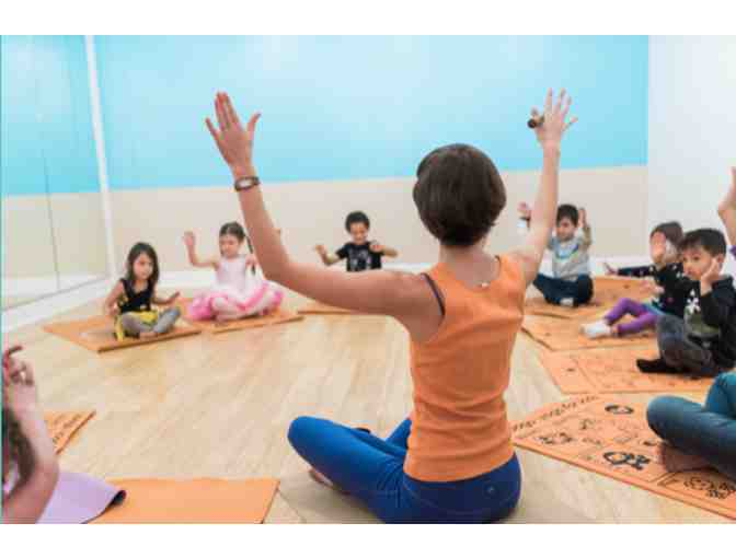Zooga Yoga- 30 Days of Unlimited Classes ($130 Value) for 1 child plus adult