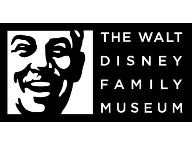 Walt Disney Family Museum - Four (4) General Admission Tickets