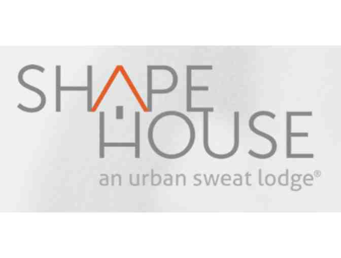Shape House, An Urban Sweat Lodge - $100 Gift Card