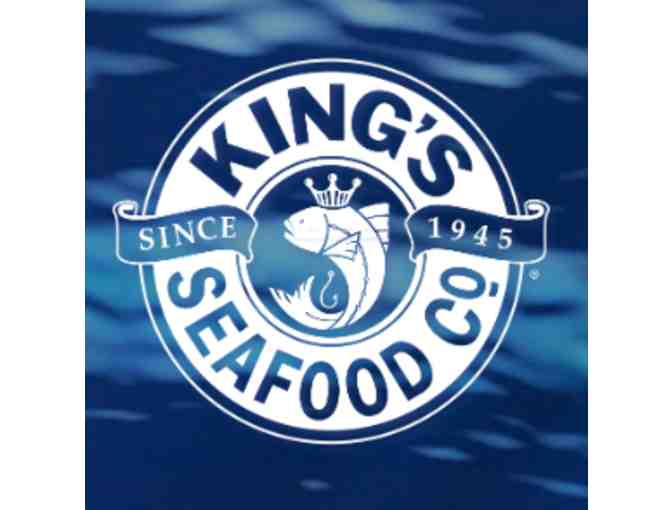 King's Seafood Restaurants - $100 Gift Card