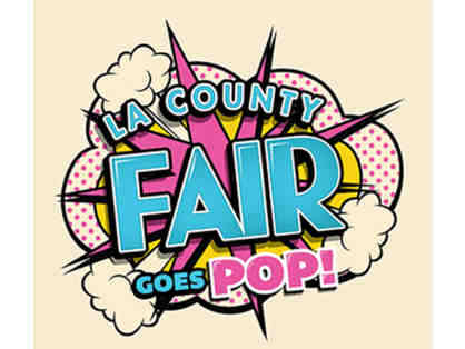 LA County Fair: Admission for 4 + Parking Pass