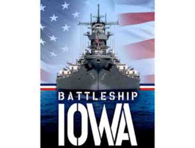 Battleship IOWA - 2 Adult Admission Tickets (#1)