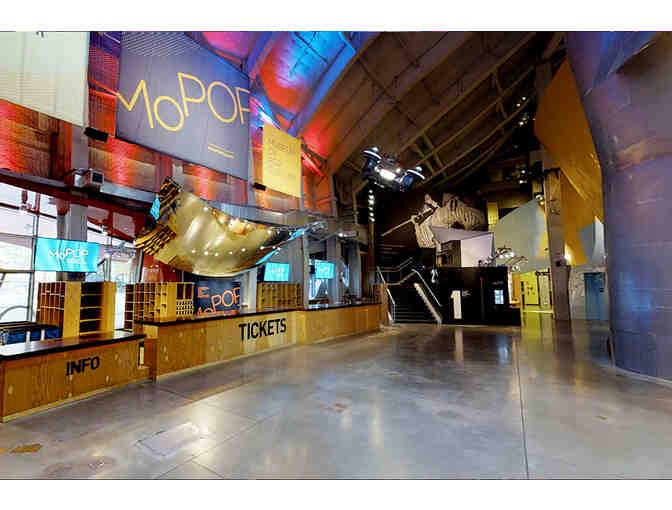 Seattle Museum of Pop Culture- Four Adult Admission Tickets