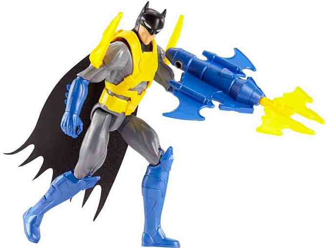DC Justice League Action Wing Tech Batman Figure with Accessory, 12'