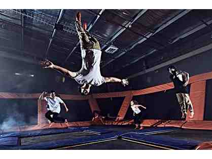 Sky Zone Trampoline Park - Four (4) 60 Minute Jump Passes ($72 Value)