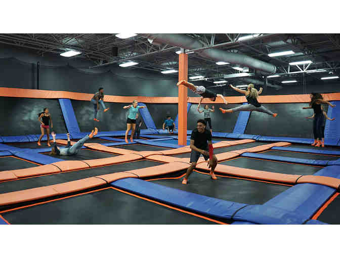 Sky Zone Trampoline Park - Four (4) 60 Minute Jump Passes ($72 Value) - Photo 2