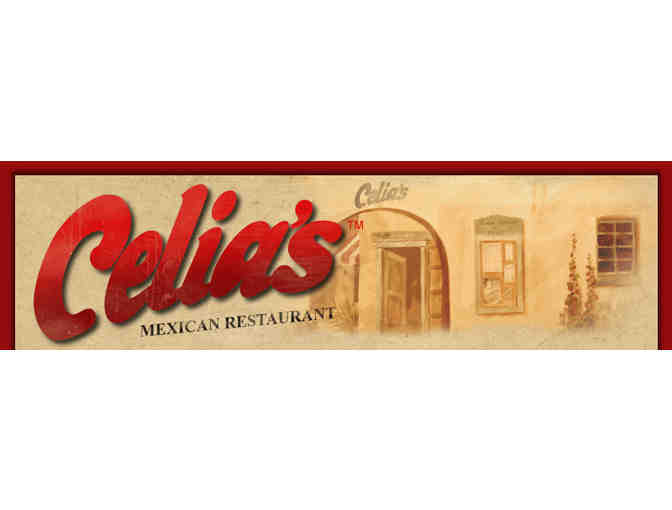 $50 Celia's Mexican Restuarant Gift Card