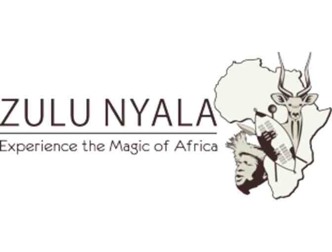 6- Night South African Photo Safari Package for Two at Zulu Nyala