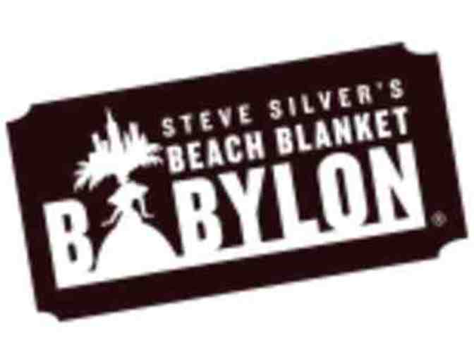 Two (2) Tickets to Beach Blanket Babylon- San Francisco