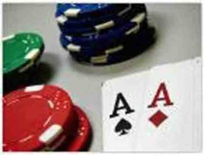 10th Annual Poker Tournament  - Sept 14, 2019 Portola Valley -- PLAYER PASS