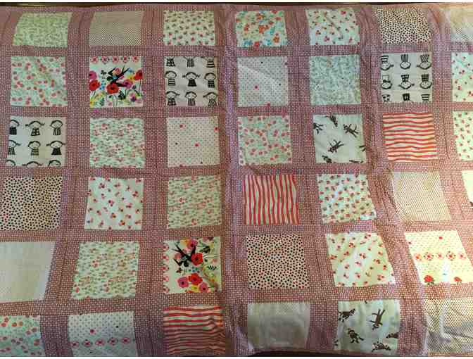 Cozy hand made quilt