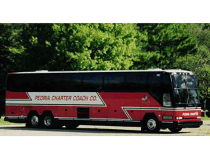 O'Hare Round Trip Bus Ticket - Peoria Charter Coach