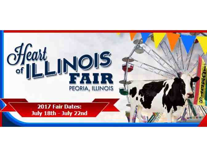 Heart of Illinois Fair Family Fun Pack Gift Certificate