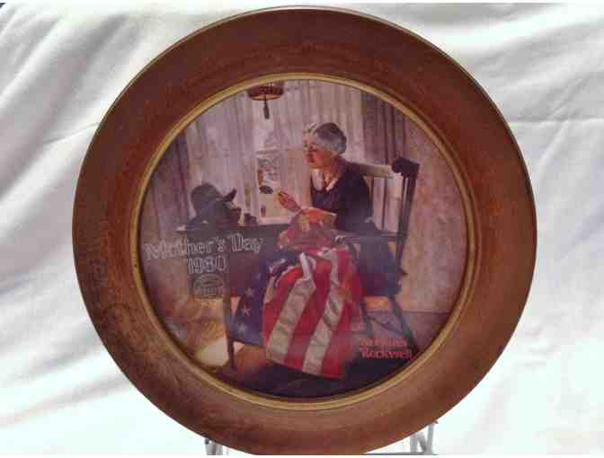 Rockwell Collectible Plate