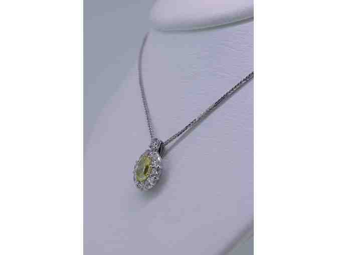 Canary Diamond necklace