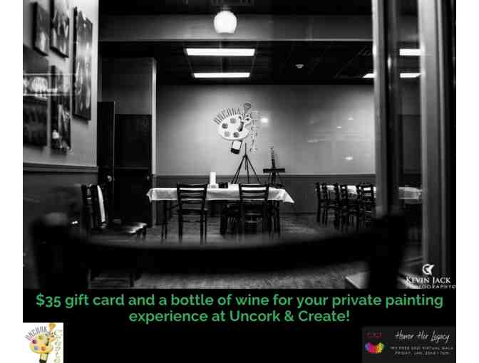 Uncork and Create Session with Wine - Photo 1