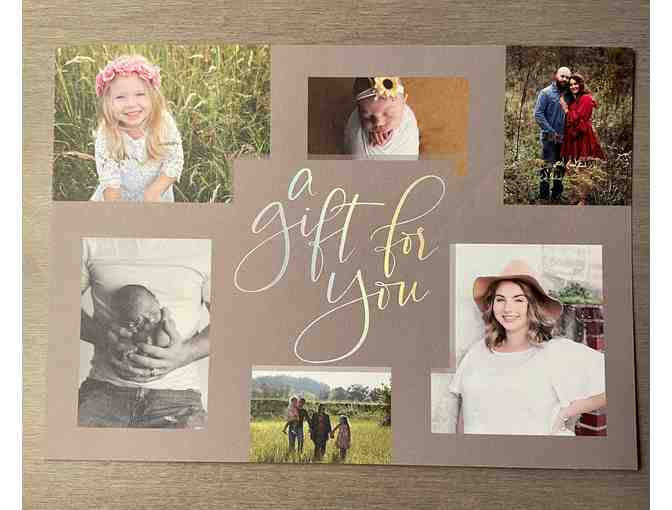 $100 Toward Amanda Greer Photography Session - Photo 1