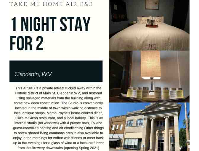One Night Stay for 2 at the Brand New Take Me Home Air B and B - Photo 1