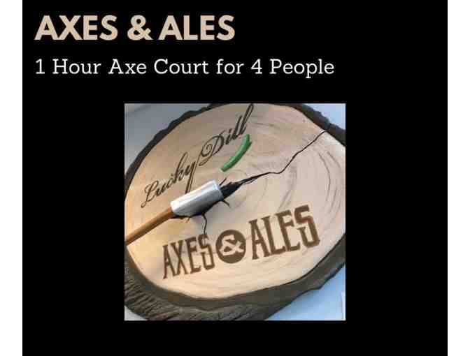 Axes & Ales 1 Hour Axe Court for 4 - Photo 1