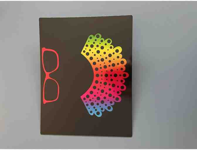 Rainbow RBG Metal Wall Decor - Photo 1
