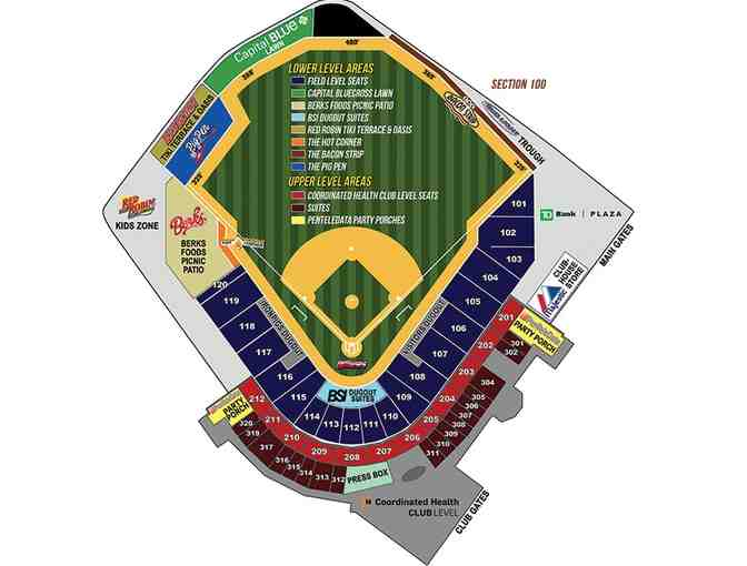 4 seats: Sunday, July 16 at 1:35 - Lehigh Valley IronPigs
