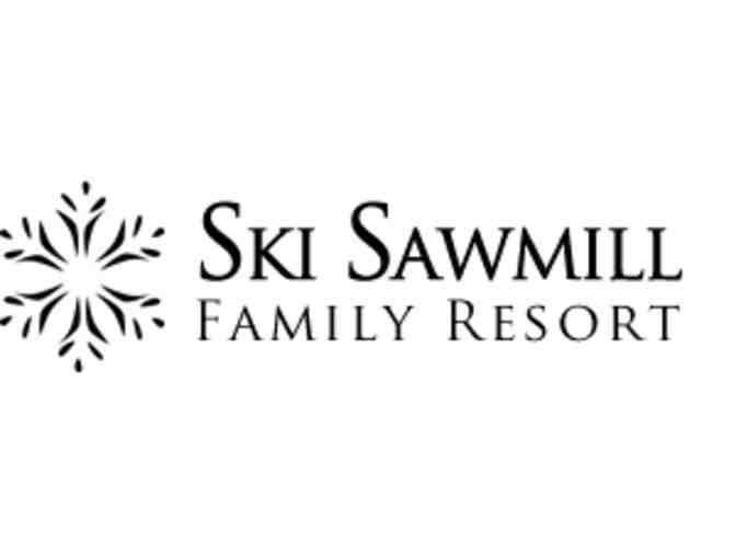 2 Ski Sawmill Lift Tickets/Rental Vouchers