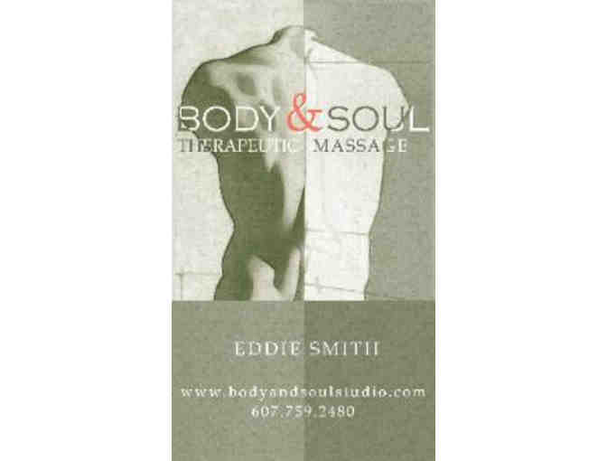 $70 Massage Session Gift Certificate - Body & Soul Studio
