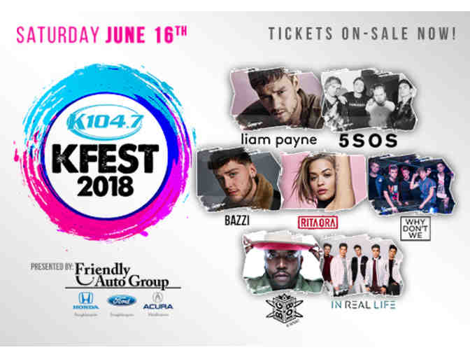 DEAL OF THE DAY - 2 Tickets - KFEST 2018 - Bethel Woods Center For the Arts