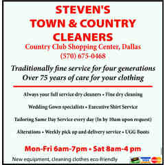 Steven's Town & Country Drycleaners