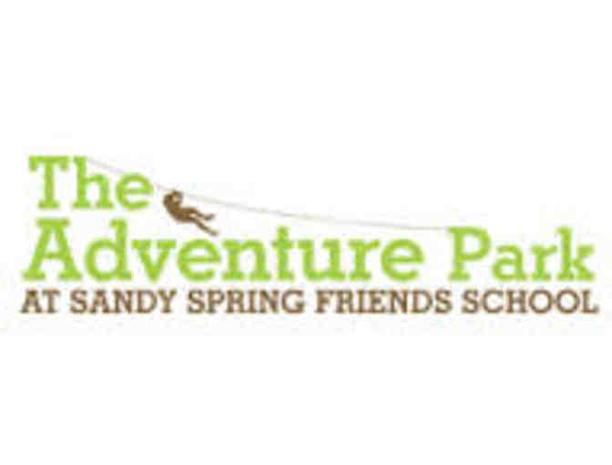 Sandy Spring Adventure Park - 2 Admission Tickets