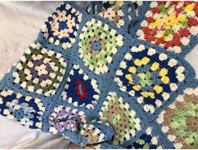 Crocheted Afghan Handmade by Colleen Taliaferro
