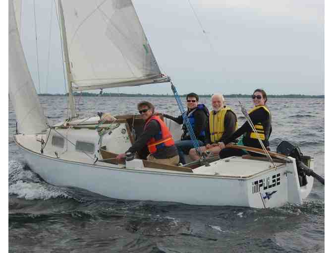 Sailing Lessons on a Private 22ft. J Boat