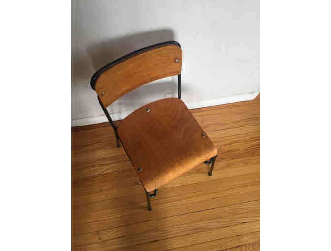 Vintage Wood Chair, child size