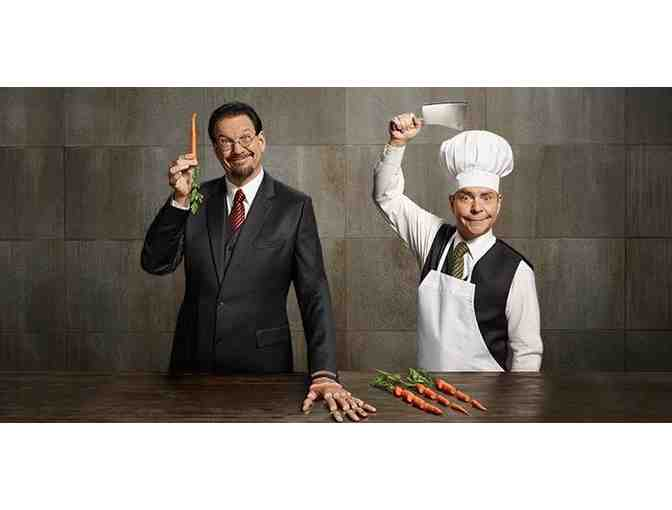 4 VIP Tickets to Penn & Teller Show in Las Vegas with Meet and Greet