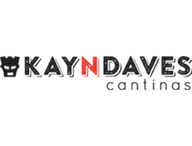 KaynDaves -- $25 Gift Certificate