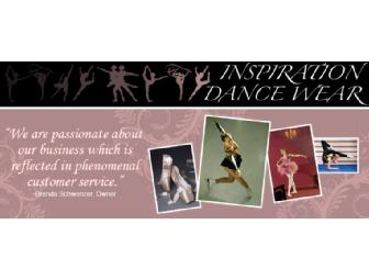 Inspiration Dancewear offers a $10 Certificate
