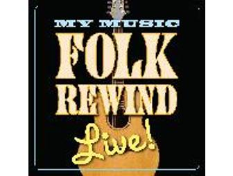 My Music: Folk Rewind LIVE! CD
