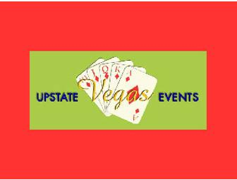 Upstate Vegas Events offers a $300 gift certificate