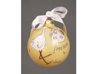 #4502 Precious One glass ball (yellow)