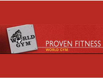 World Gym One-Month Membership for Two