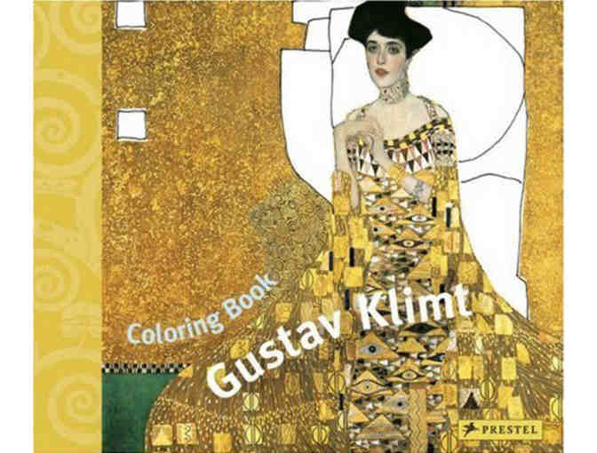COLORING BOOK GUSTAV KLIMT AND SET OF DINNER AT THE MUSEUM PLACEMATS