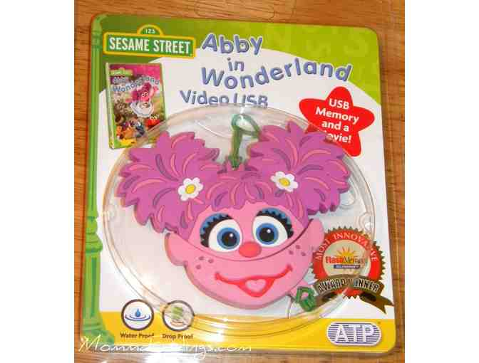 Sesame Street Abby In Wonderland Video USB