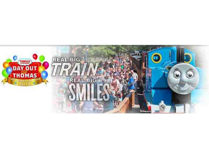 Medina Railroad Museum offers a Family Four Pack of Tickets to a Day Out With Thomas on May 10th