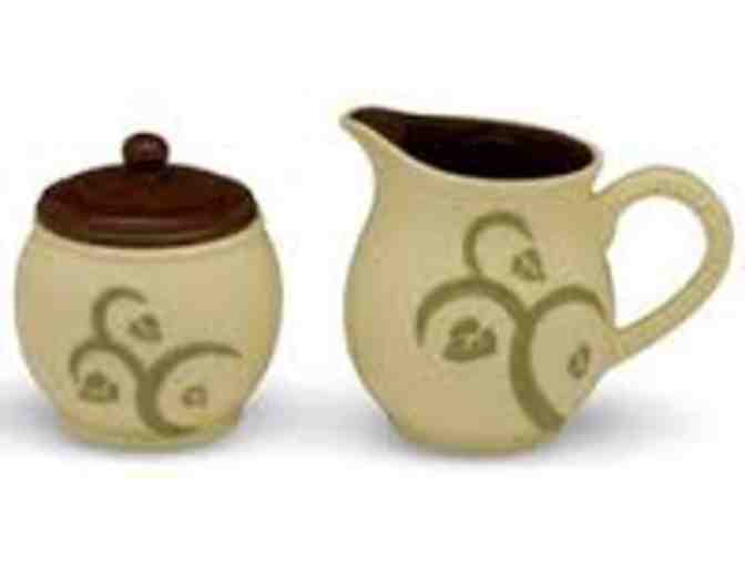 Cream and Sugar Set by Shared Blessings
