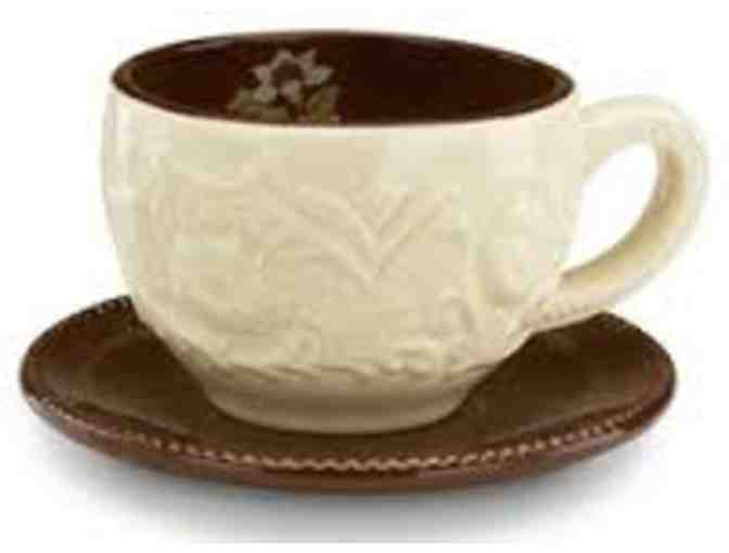 Cup and Saucer Set by Shared Blessings
