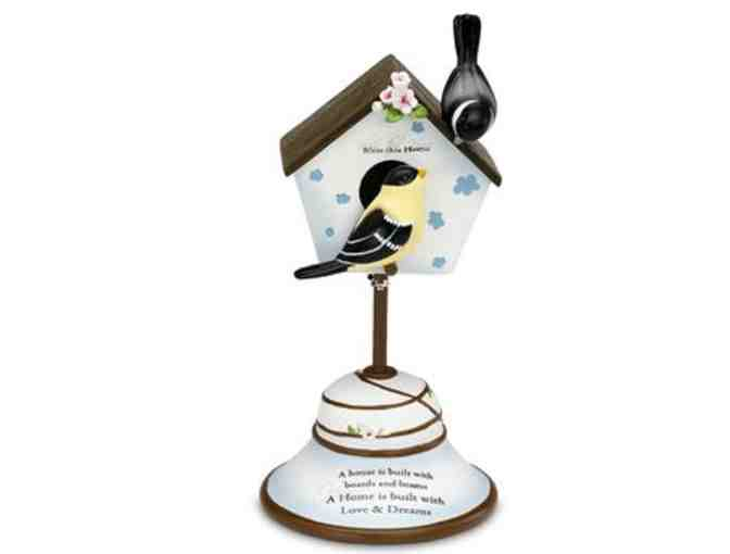 'Bless This Home' Birdhouse Figurine